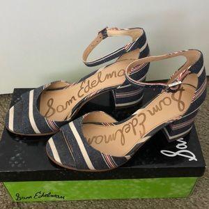 Sam Edelman Shoes - Sam Edelman Susie Suede Strap Sandal - Size 7 NEW